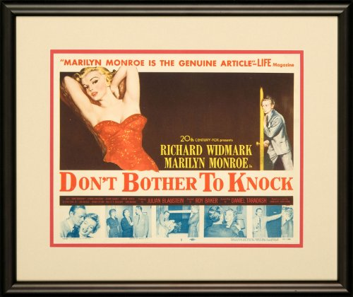 "Don'T Bother To Knock 1952 Original Lobby Card Marilyn Monroe Drama - Dimensions: 11"" X 14"" front-1045841"