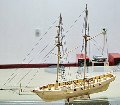 Assembly Model kits Classical wooden sailing boat model HARVEY1847 (Model Kit Putty compare prices)