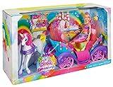 Mattel-Barbie-DPY38-Barbie-Regenbogen-Prinzessin-Einhorn-und-Kutsche