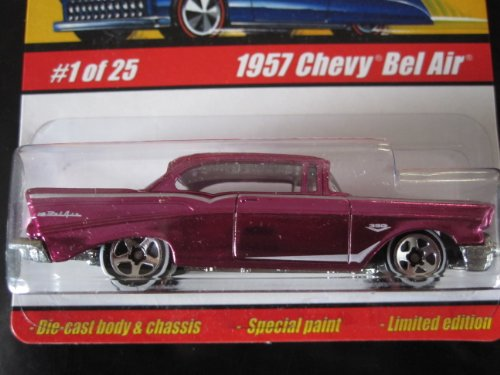 1957 Chevy Bel Air(Spectraflame Pink)	2005 Hot Wheels Classics #1