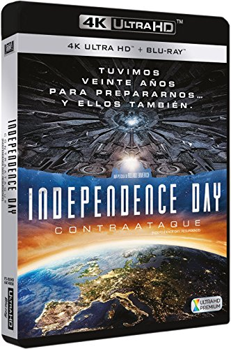 Independence Day : Contraataque - Independence Day: Resurgence 4K ULTRA HD Atmos [Non-usa Format: Pal -Import- Spain ]