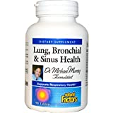 Natural Factors Dr. Murray's Lung,Bronchial & Sinus, 90 Tabs