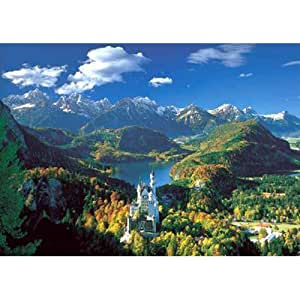 Neuschwanstein and Surroundings Puzzle - 5000 Piece