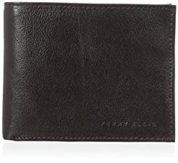Perry Ellis Men\'s Indiana Pass Case Wallet, Black Cherry, One Size