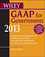 Wiley GAAP for Governments 2013, 8th Edition