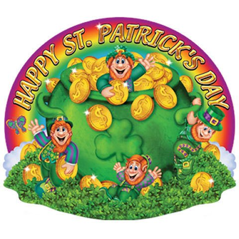 Happy St. Patrick's Day Sign - 20""