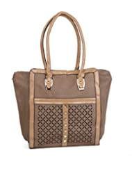 ADISA B0642 BROWN Womens PU Handbag