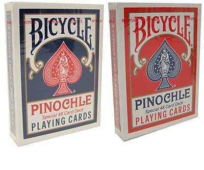 Bicycle Pinochle Playing Cards - 2 Decks