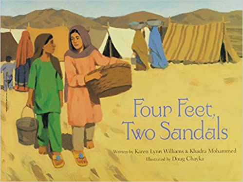 Four Feet, Two Sandals - book image