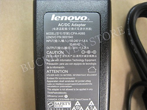 Click to buy Ac Power Adapter Charger 65W 20V for Lenovo IdeaPad S400-IFI Series New Genuine [] - From only $85