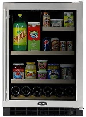 Marvel 6GARMBSGR: 24 Marvel Glass Door Refrigerator / Beverage Center