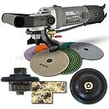 Hardin HWV316POLSET 3/16-Inch Radius Stone and Concrete 3/16-Round Bullnose Shaping and Wet Polishing Kit