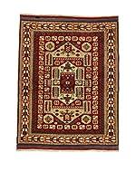 L'Eden del Tappeto Alfombra Konya Antik Rojo / Beige 119 x 144 cm