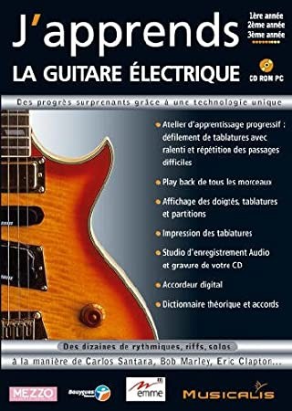 J'apprends la guitare électrique (vf - French software)