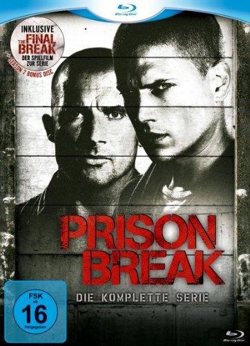 Prison Break - Complete Box [Blu-ray]