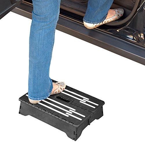 Vehicle Cargo Access Portable Folding Wheel Step Dealtrend