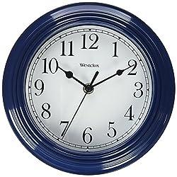 9 Round Blue Simplicity Wall Clock
