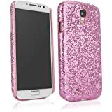BoxWave Glamour & Glitz Galaxy S4 (S IV, SIV) Case - Slim Snap-On Galaxy S4 Glitter Case, Fun Colorful Sparkle Case for your Galaxy S4 (Princess Pink)