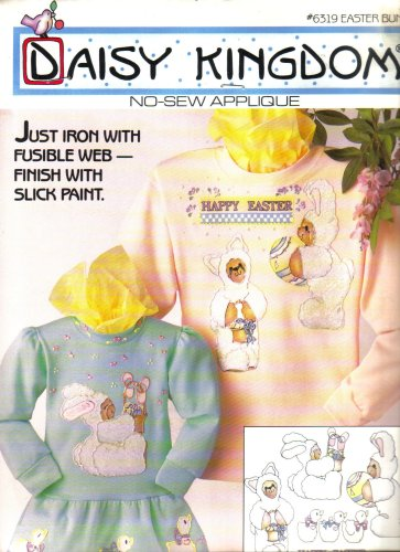 Easter Bunny No-Sew Applique