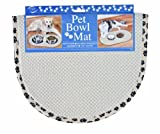 Envision Home 420400 Microfiber Pet Bowl/Food Mat