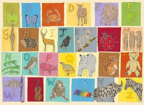 Children's Alphabet Print