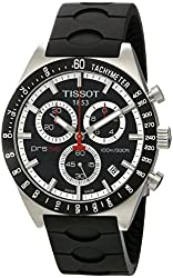Tissot Men's TIST0444172705100 PRS 516 Black Dial Watch