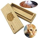 猫専用 桐製ネコひげケース【高級桐天然木使用】/マルチケースとしてもお使いいただけます。