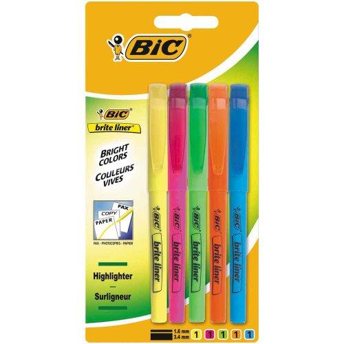 bic-briteliner-highlighter-pens-pack-of-5