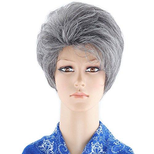 KOLIG (Short Grey Wig)