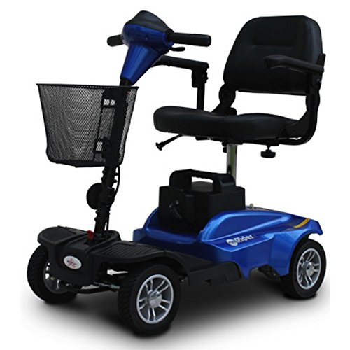 EV Rider MiniRider MiniRider 4 Wheel Travel Scooter (Blue)