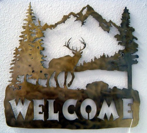 Elk Mountain Welcome Sign