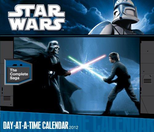 Star Wars: The Saga 2012 Page A Day Box Calendar