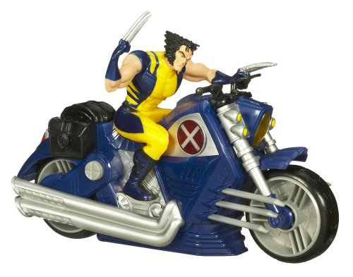 Picture of Hasbro Wolverine Motorcycle with Figure Assortment (B001L7VW58) (Hasbro Action Figures)