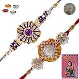 Little India Designer Style Ethnic Handcrafted Fancy Rakhi Gift 304