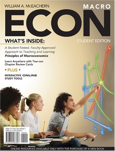 ECON for Macroeconomics (with Premium Website Printed Access Card)