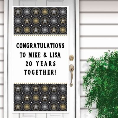 Glitter Staz Personalize It Door Decorations