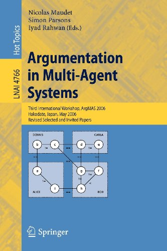 Argumentation in Multi-Agent Systems: Third International Workshop, ArgMAS 2006, Hakodate, Japan, May 8, 2006, Revised S