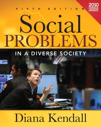 Social Problems in a Diverse Society Census Update (5th...