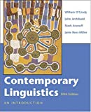 Contemporary Linguistics: An Introduction (0312419368) by O'Grady, William