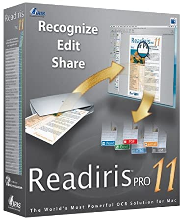 IRIS ReadIris Pro 11.0 (Mac) [Old Version]