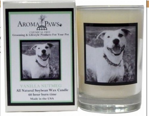 Aroma Paws 347 Breed Candle 5 Oz. Glass-Gift Box - Pitbull