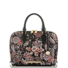 Vivian Dome Satchel<br>Black Bohemia