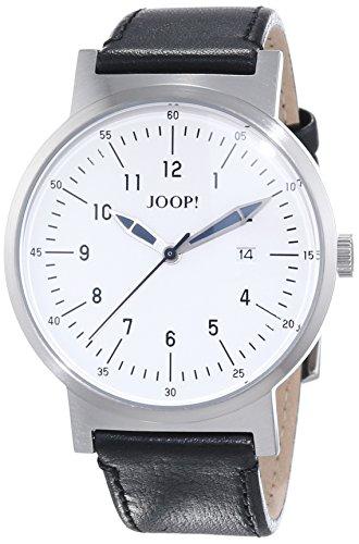 Joop. Reloj De Pulsera Para Hombre XL Traveller analógico de cuarzo piel JP101431004