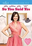 So You Said Yes [Import]