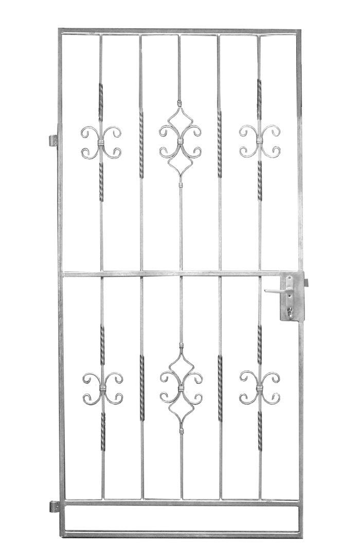 Gartentor Metalltor Eingangstor Karat Rechteck 960x1990 mm  BaumarktKundenbewertungen