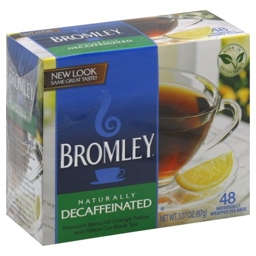 Bromley Tea Naturally Decaffeinated 48.0 Bg (Pack Of 3)