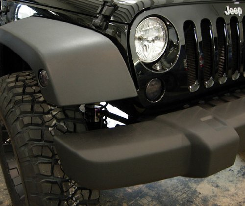 Recon Jeep Wrangler Jk Smoked Led Light Package - Includes Front Turn Signal Lenses, Side Fender Lenses & Rear Tail Lights # 264134Bk, 264135Bk & 264234Bk