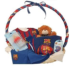 Canastilla Barça marca La Cestita del Bebé