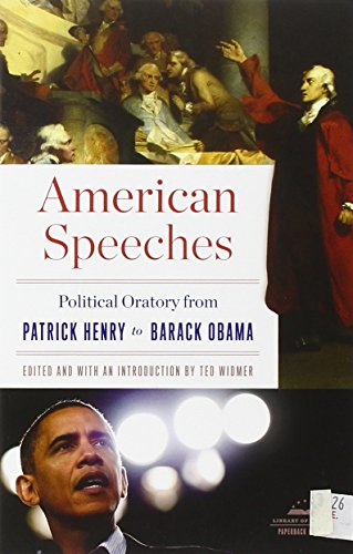 american speeches political oratory from patrick henry to barack obama library of america. Black Bedroom Furniture Sets. Home Design Ideas