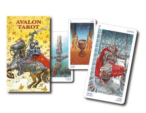 Avalon Tarot: 78 Cards with Instructions (Lo Scarabeo Decks)